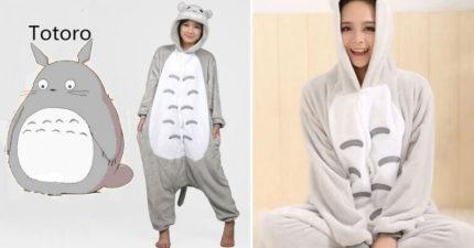讓宮崎駿粉絲瘋狂的「龍貓豆豆龍睡衣」!可愛度爆表一穿上去一整天就廢了!(內有購買連結)