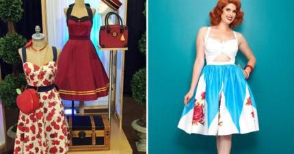 迪士尼推出「現代版洋裝店」!官方認證「最佳女主角裝扮」每件都把人美哭。(17張+影片)