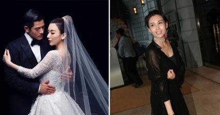 天王郭富城與網紅正妹結婚,邱淑貞女兒「正翻全場」比媽媽更吸睛!