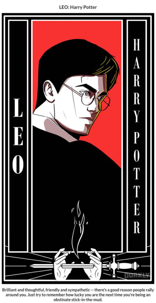 12星座跟它們對應的「哈利波特名人角色」超準性格大分析。