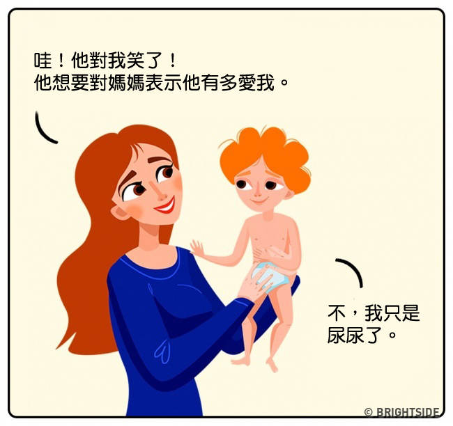 14張「媽媽酸甜苦辣彩色漫畫」證明你根本不懂媽媽的世界。#4爸爸根本豬隊友!