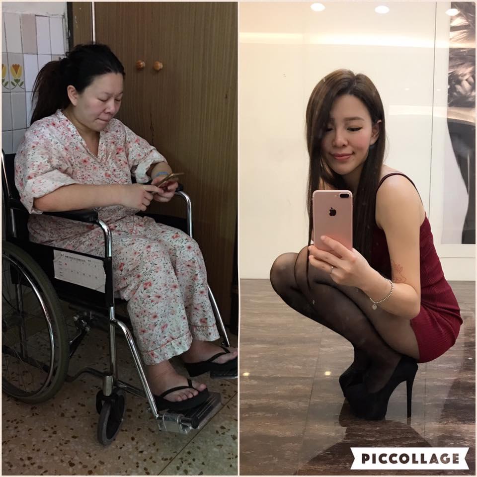 剛生完小孩的「大媽」,1年甩30公斤變超正「辣媽」網友:「本日最勵志!」