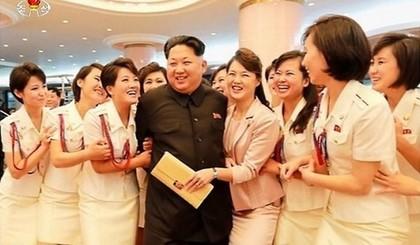 金正恩跟「13歲處女團」玩色色遊戲「輸掉剃恥毛」,光色色衣就花了1.3億!