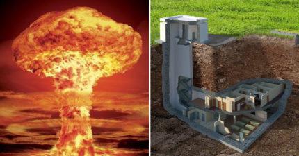 世界大戰三開打時能躲哪?「造價5億」39000坪超奢華地下碉堡,豪華設備讓人想一輩子住在那!(11張)