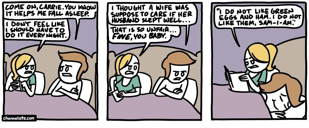20個沒跟另一半睡過看不懂的「內行人才會遇到爆笑情況」。#3要老婆每晚睡前做的「那檔事」...
