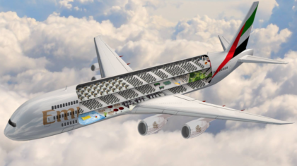 阿聯酋推出「世界上最大商用飛機」豪華到上面有游泳池、公園等設施!卻被網友吐槽:「會發生海嘯。」