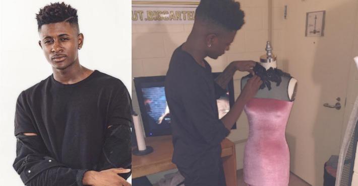 舞伴沒禮服穿,18歲高中生「親手縫製超美金色禮服」網路爆紅!還嗆酸民:「你們讓我賺翻了!」