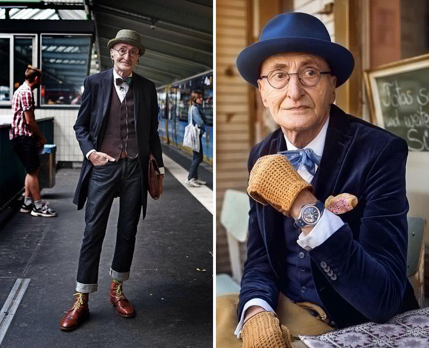 Günther Krabbenhöft, 70 Years Old