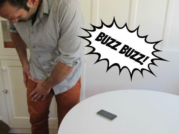 如果你常感到「手機震動」但其實沒有的話,你就有嚴重危險了!