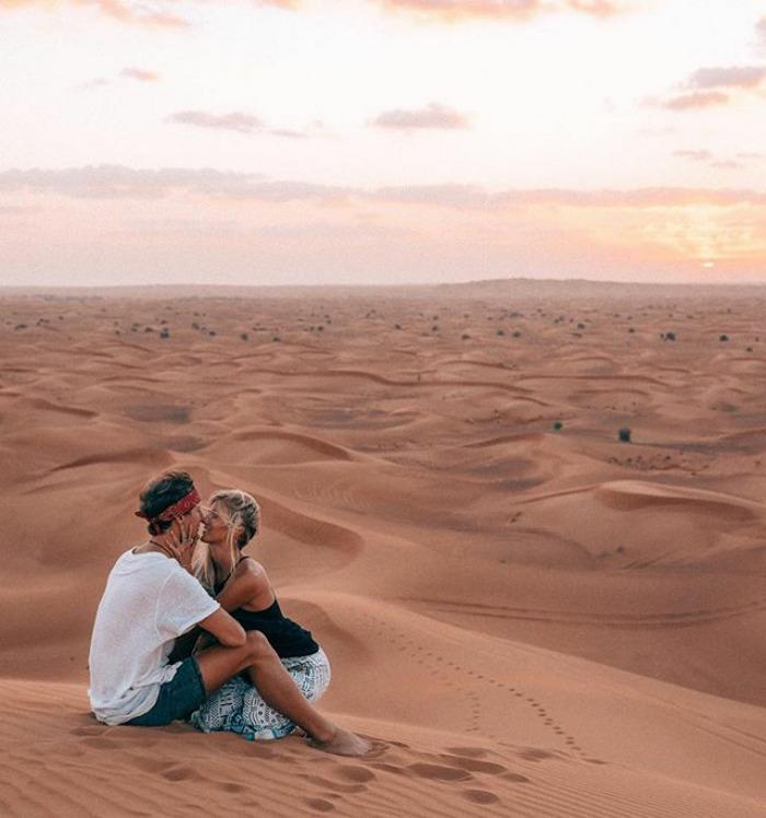 情侶靠著「拍出超完美照片」環遊世界維生,他大方公開一張照片「美到值27萬」的秘訣!