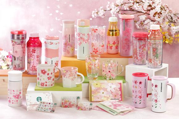日本星巴克2款「春季浪漫櫻花飲品」限時販售!同場加映:超夢幻絕美櫻花限定杯組!