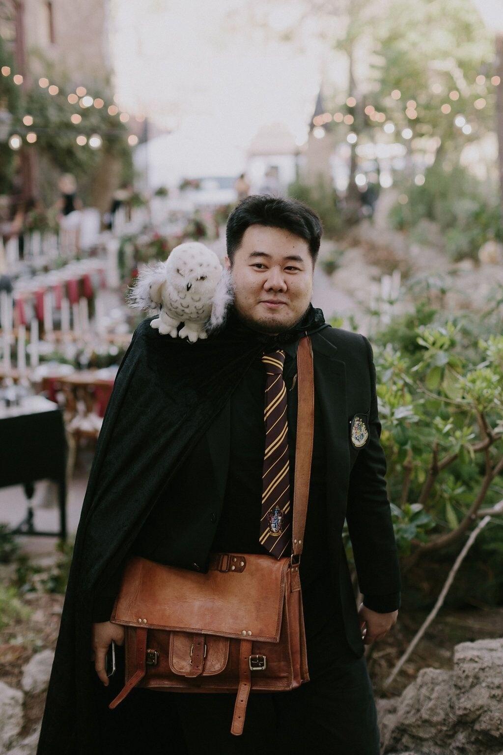 史上最酷《哈利波特》主題婚禮,光是送出的賓客「魔法小禮物」就讓人眼紅啊!