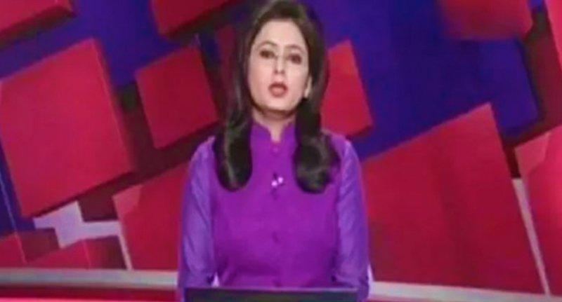 News Presenter Breaks News Of Her Husbands Death Live On TV kaur fb