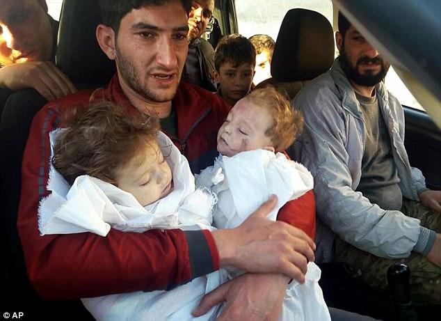 敘利亞總統:「毒氣攻擊是假的那些孩童根本沒死!假新聞!」龍鳳胎父崩潰痛哭:「他怎麼能說謊!」