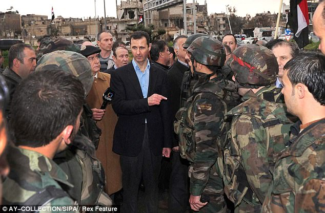 Assadclaimed his regime handed over all its chemical weapons stockpiles in 2013, and could not have carried out last week's attack