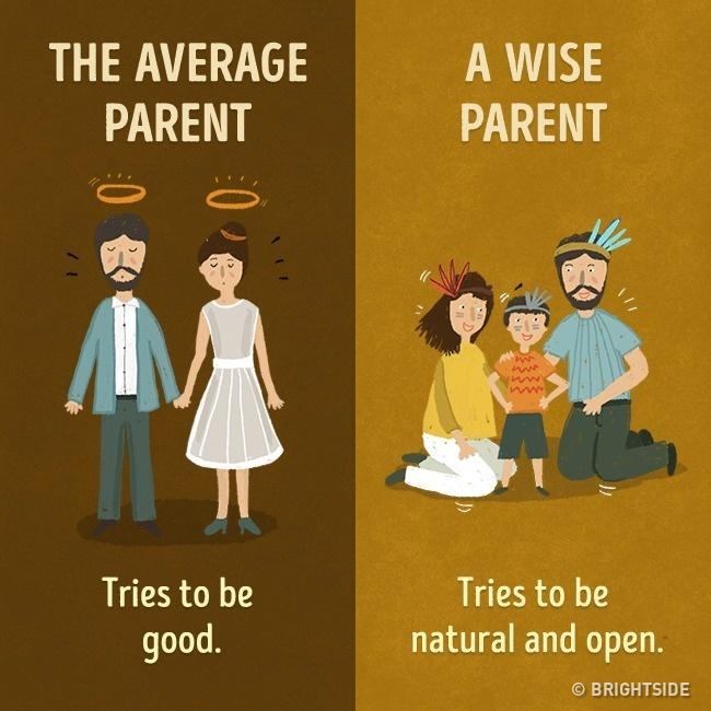 11張「好父母壞父母最大的差別」對比圖 最大的鼓勵是陪伴!