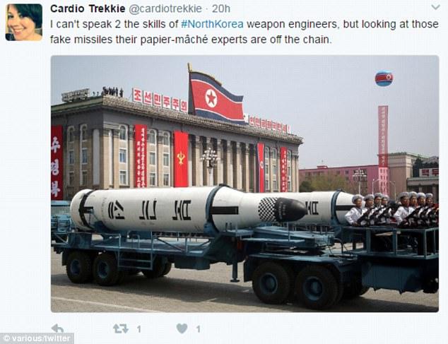 北韓新型飛彈被踢爆是「木頭做的」記者現場拍到「超明顯證據」!網友:「金正恩在害怕...」(影片)
