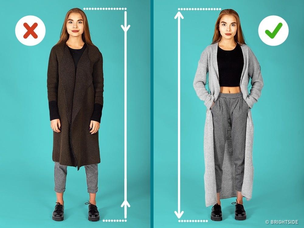 7個只是動一點就讓你看起來高10公分「小個子女生穿著改造術」!