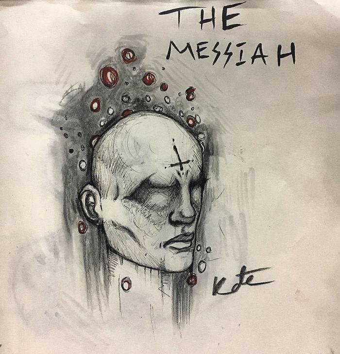 每個人都假裝懂精神分裂症!18歲超正少女決定「畫下她看到的畫面」讓大家看看她可怕的世界!
