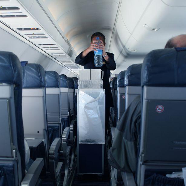 為什麼空姐總是在通道上走來走去?網友知道原因後:「怪不得下面有臭臭的...」