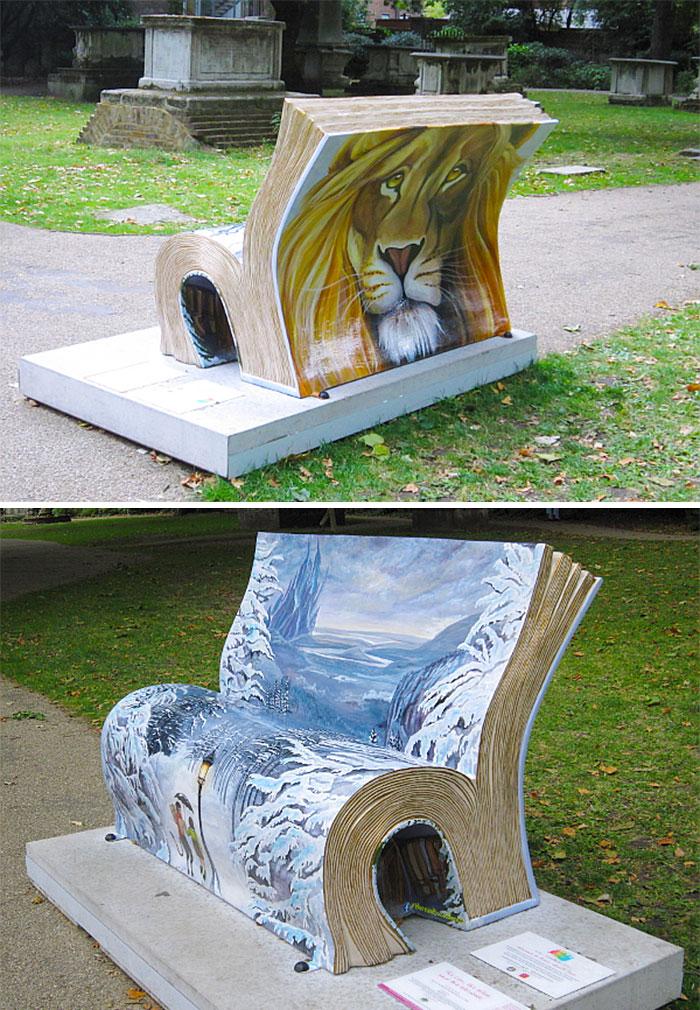 30張會讓你再也站不起來的「超越藝術創意長椅」。
