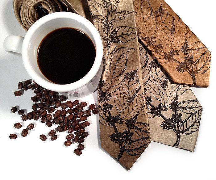 Coffee Beans Necktie