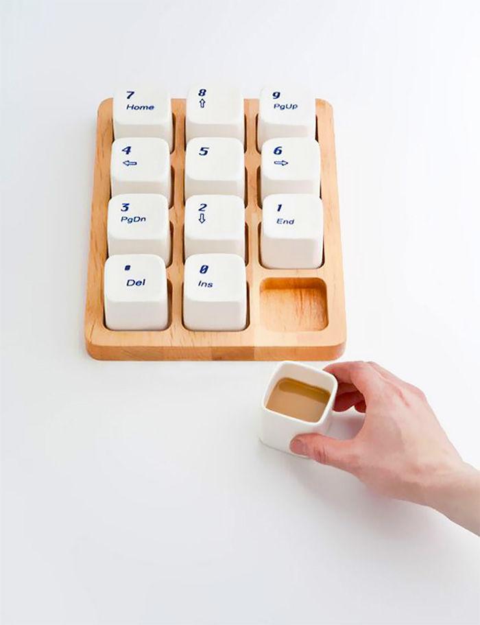Keyboard Coffee Cups