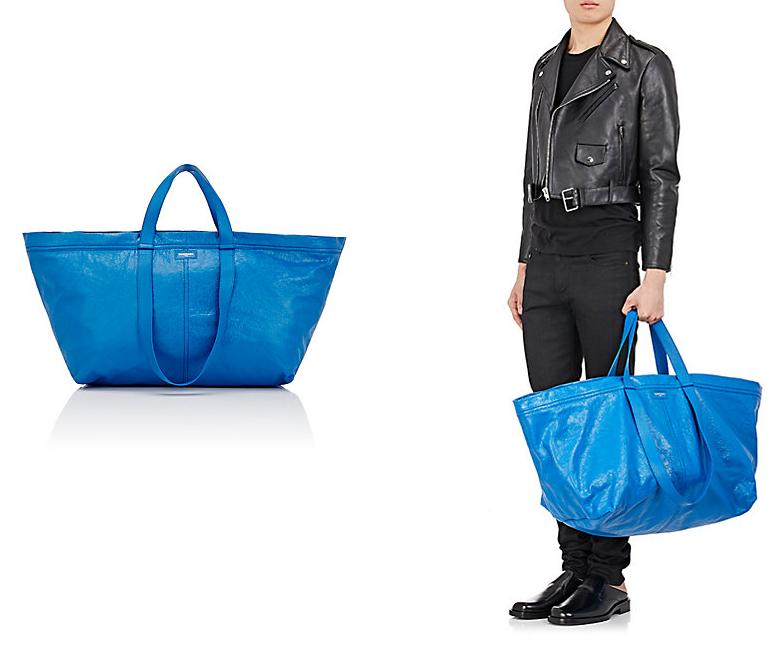 法國時尚品牌抄襲「大藍包」的設計,IKEA做出超爆笑神回打臉「教你6種看出真假貨的方式」!