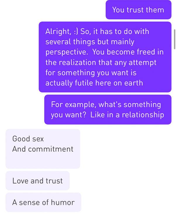 女子失戀上交友軟體「想靠約泡麻痺自己」,男子的回應「一針見血點出」現代人戀愛癥結!