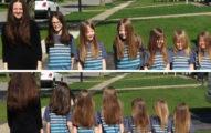 她帶6兒子「留長髮」受盡嘲笑霸凌,直到這天「剪掉」讓嘲笑他們的人都內疚道歉!