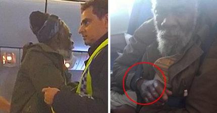 聯航剛落幕,英航又爆趕客下機!65歲癌男被「四肢綑綁蓋黑布」被當奴隸,空姐還嗆:「要尿就尿在座位上!」