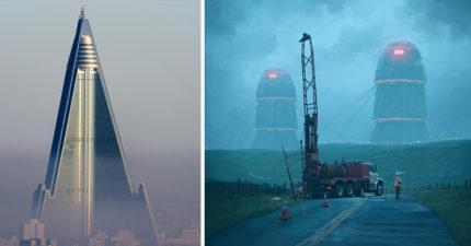 27個「猛到外星人會跪下讚嘆」的邪惡科幻驚奇建築。#21台灣唯一上榜!