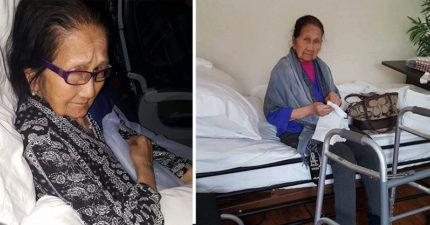 94歲亞裔身障婦「花10萬買商務艙」被趕下機,聯航空姐說:「妳只有2個選擇。」