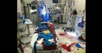 「醫護人員到底在幹嘛!」在你幹譙前請先看這張照!