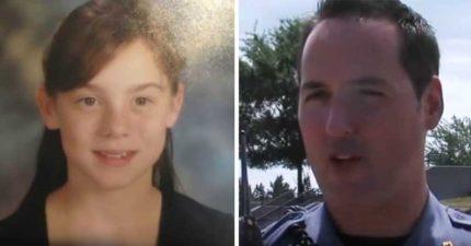 9歲女孩每天早上都跟警察開心揮手 這天卻「不見人影」...他憑直覺進屋內嚇傻!