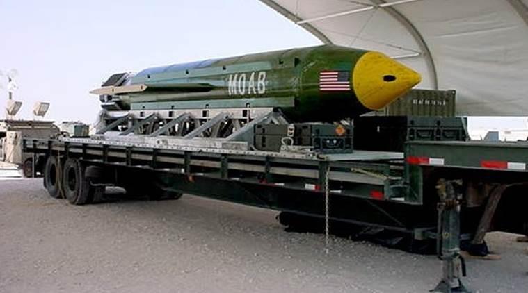 地表最強「炸彈之母」!美軍用9000KG巨型兵器轟滅ISIS「看死傷人數才知道威力有多大」!