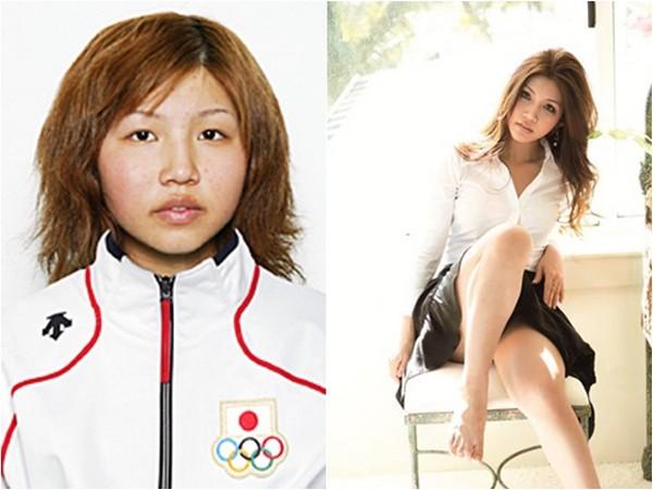 日本天才滑雪板女國手宣布「進軍拍色片」,拉起衣服露出大雪球!網友:整形前模樣超扯!