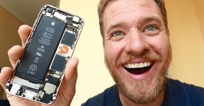 朋友挑戰他「在中國找到單個零件DIY成一台iPhone 6s」,從零到有的過程讓你看到中國有多「變態」!