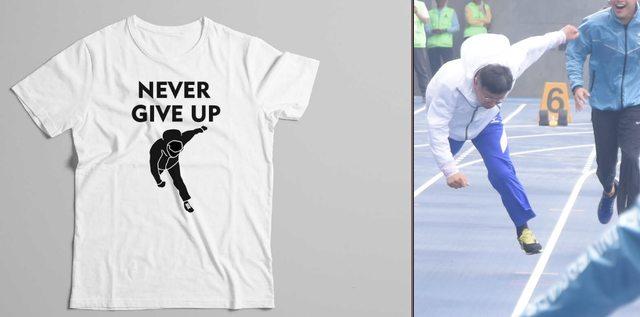 柯P跌倒事件已經進展成「永不放棄T恤」,讓忍耐已久的「原攝影師」開口了!