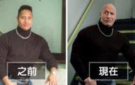 巨石強森醜醜舊照被網友嘲笑,他反打臉「重現當年穿搭」證明時間會把人變超MAN!