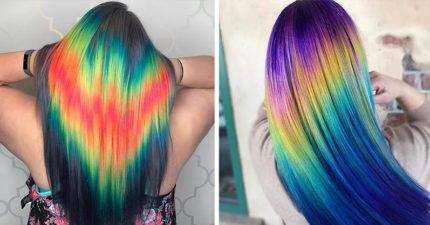 29張最新流行會讓你成為潮流先鋒的爆美「亮線髮色」照片!
