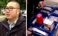 他發現8歲兒子很多同學因為「沒錢買午餐吃」被霸凌,他霸氣付清70萬午餐費「我全都養」!