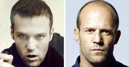 12個會讓你回不去的「男巨星禿頭前後對比圖」。#11 馮迪索如果沒禿頭的話絕對紅不了!