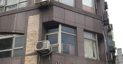 日本女生來台旅遊,看到「這棟大樓」後傻眼到直喊「台灣太謎了!」
