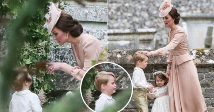 做錯了什麼?「最萌花童」喬治小王子被王妃罵哭模樣太萌,網友陪他一起哭!
