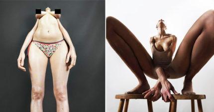 28張將支離破碎女體重組呈現「最真實的女體美」震撼攝影作品。#8已經看不出來是身體了!
