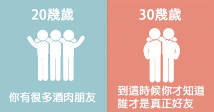 8張中肯對比圖告訴你「人生到30歲才更美好」,光看第一張就讓人不怕「變老」了!