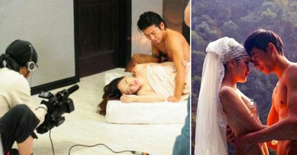 新郎拍裸體婚紗硬了要求「邊做邊拍」,「完事射在布景上」攝助清理無奈:我不是AV助理!