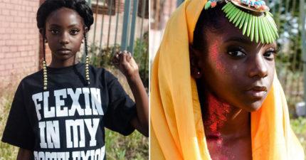 10歲女孩因為黑皮膚「被霸凌笑穿什麼都不好看」,她「怒創服裝品牌」重拾自信打臉欺侮她的人!