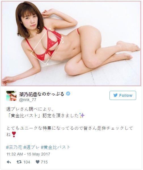 為什麼男生狂盯女生胸部?日本I奶女星「黃金比例美乳」給你完美解答!
